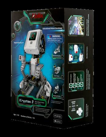 Krypton K2v1 - robot edukacyjny, 29 projektów, 723 elementy